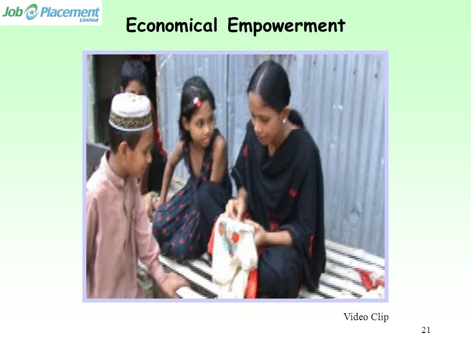 Economical Empowerment Video Clip 21