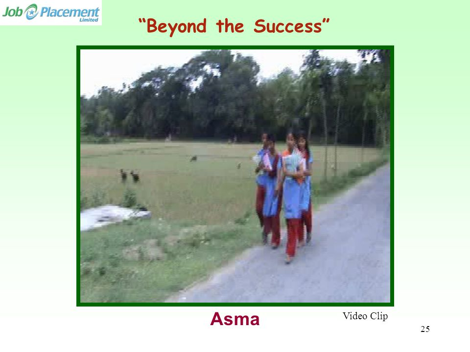 "Video Clip Asma ""Beyond the Success"" 25"