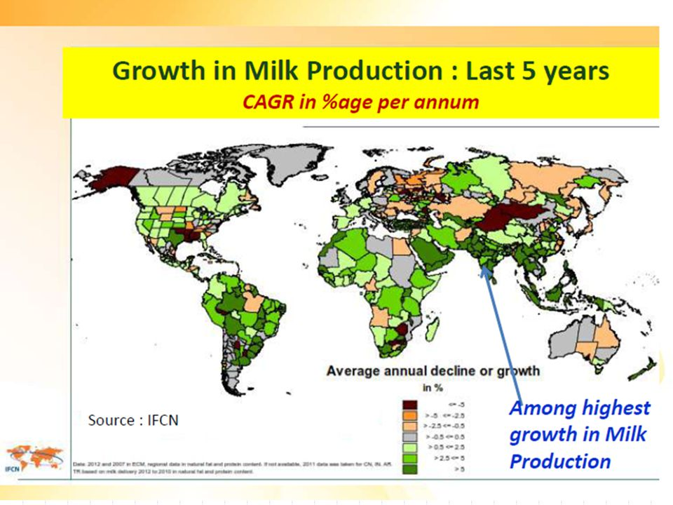 National Dairy Plan NDP, with a 15 year horizon, envisaged the following objective: Meet the projected national demand of milk through domestic sources (not imports) by increasing production at the pace required through productivity enhancement, and Strengthen/expand infrastructure for milk procurement, processing and marketing.