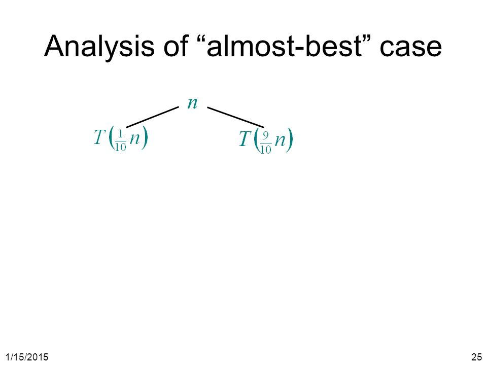 """1/15/201525 Analysis of """"almost-best"""" case n"""
