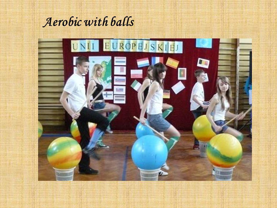 Aerobic with balls