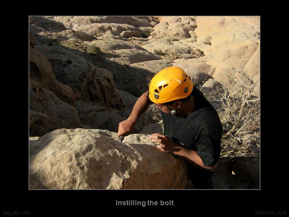 Instilling the bolt IMG_4821.JPG2009-03-13 14:52