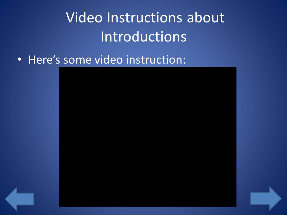 Scenario 1 You are the instructor for ETEC 407. You want your students to introduce themselves to the class via a video they will upload. You want stu