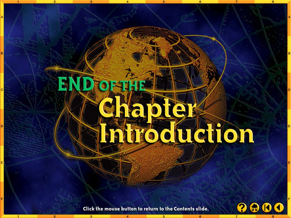 Chapter Assessment 3 Click the mouse button or press the Space Bar to display the answer.