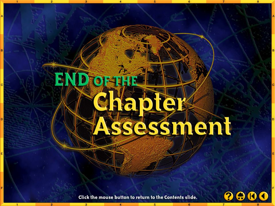 Chapter Assessment 14 Click the mouse button or press the Space Bar to display the answer.