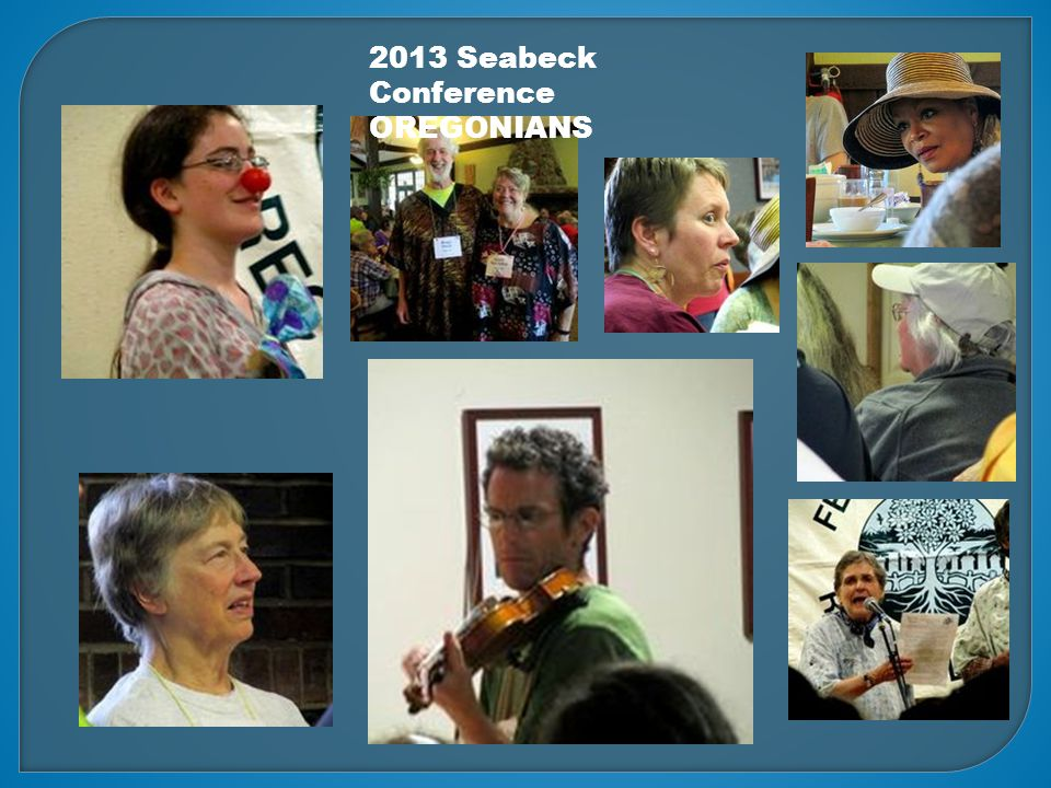 2013 Seabeck Conference OREGONIANS