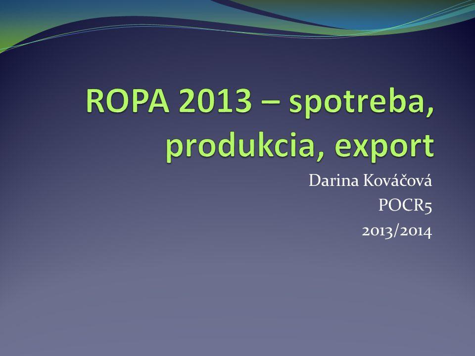 Darina Kováčová POCR5 2013/2014