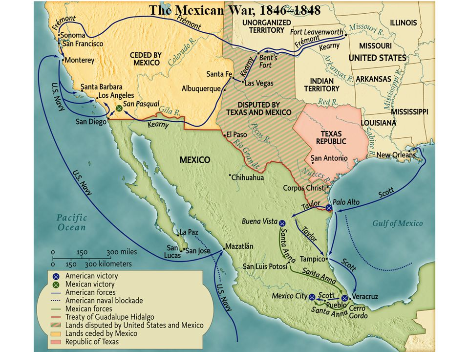 The Mexican War, 1846–1848 pg. 465 The Mexican War, 1846–1848