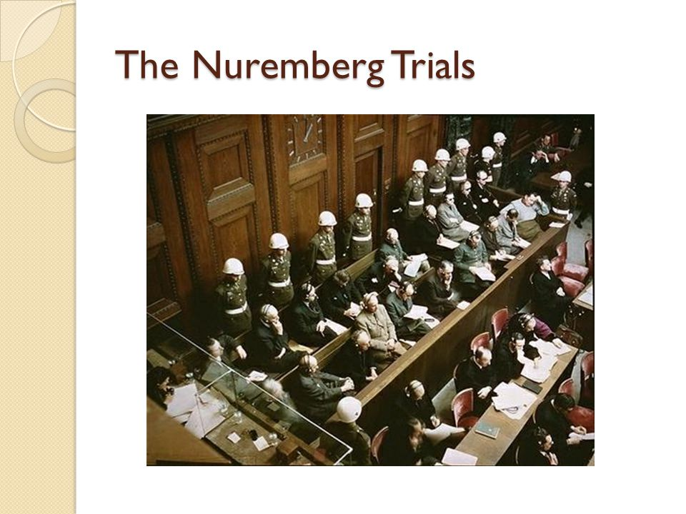 Breaking with the Hippocratic Tradition Nuremberg Code, 1946  A product of the Nuremberg Trials  The first document in the 2500 years since Hippocrates to make any mention of patient's rights.