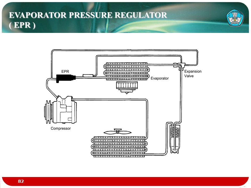 EVAPORATOR PRESSURE REGULATOR ( EPR ) 82