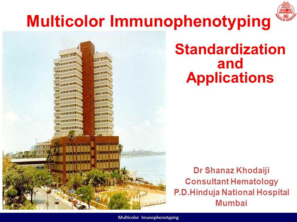History of FC at the PDHNH & MRC FACSCalibur in 1995 FACSCanto II in 2008 CD4 and CD8 counts Detailed Lymphocyte Subset analysis HLA-B27 Immunophenotyping of Acute Leukemias and CLPDs Platelet antigen studies Multicolor Imunophenotyping