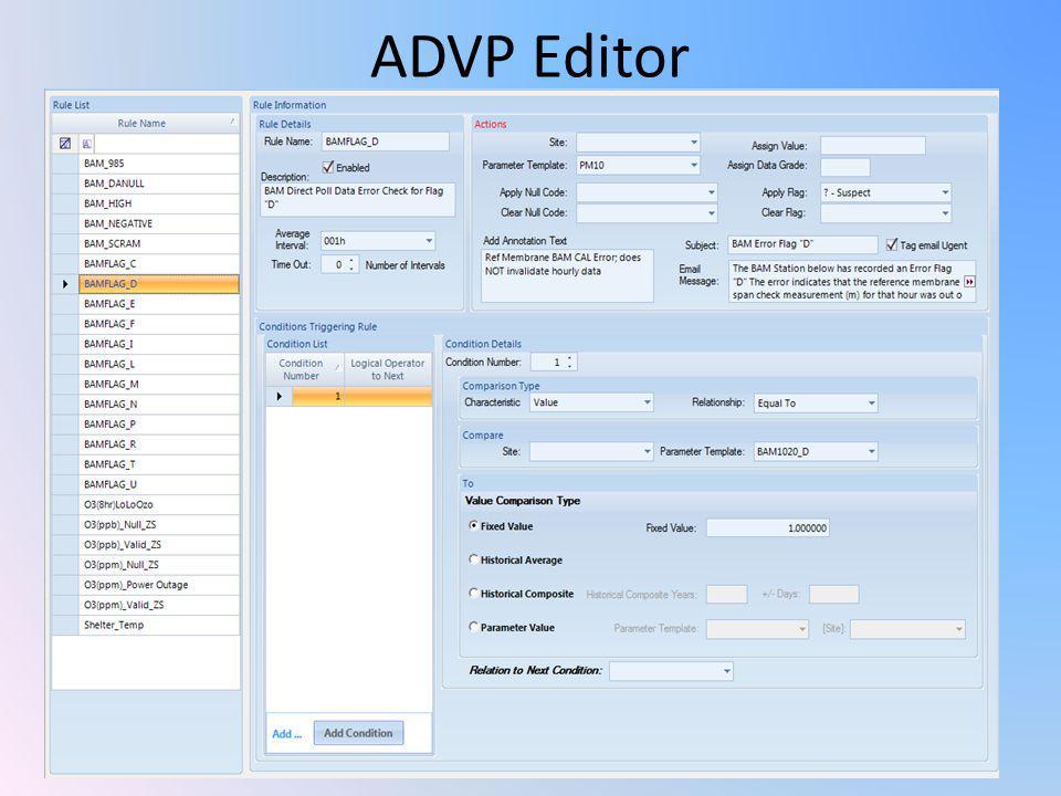 ADVP Editor