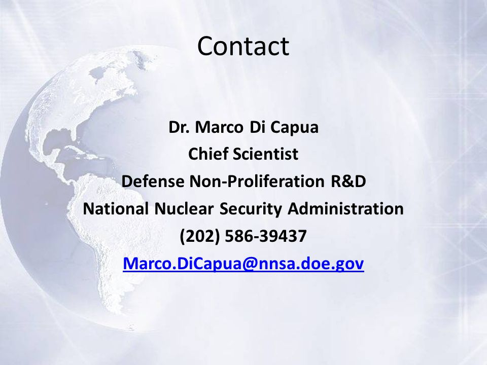 Contact Dr.