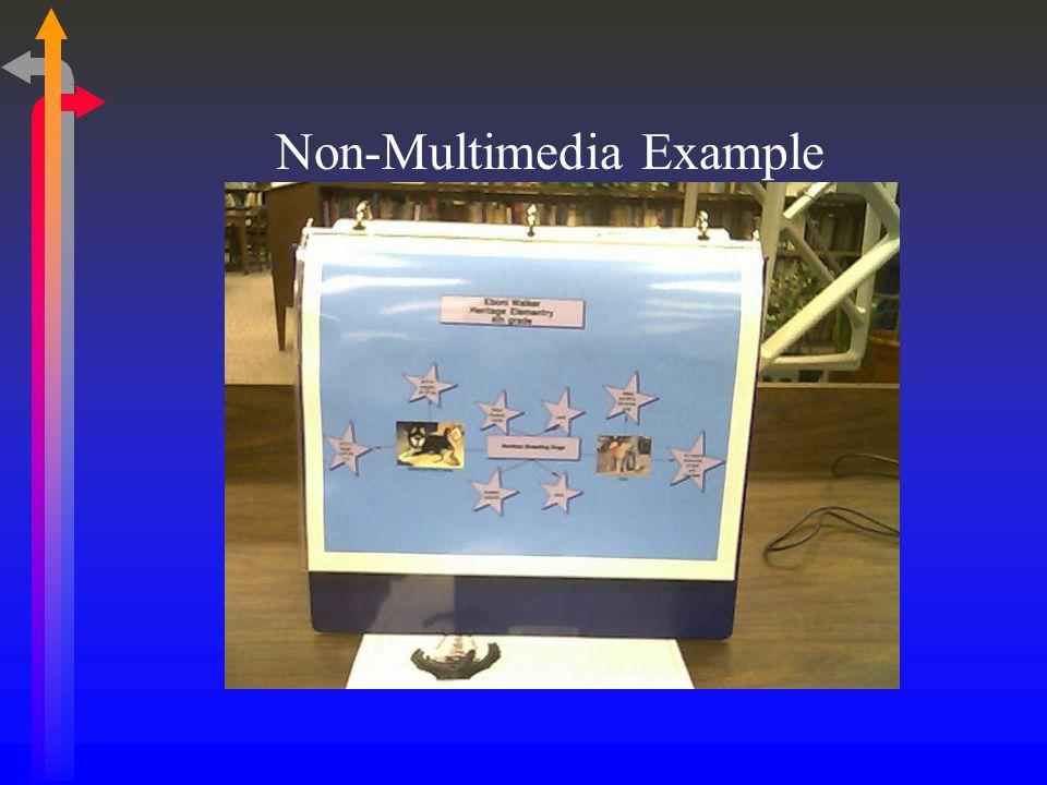 Non-Multimedia Example