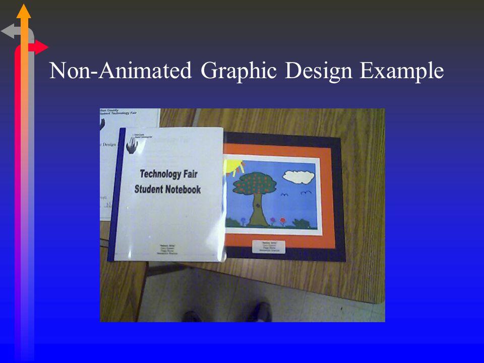 Non-Animated Graphic Design Example