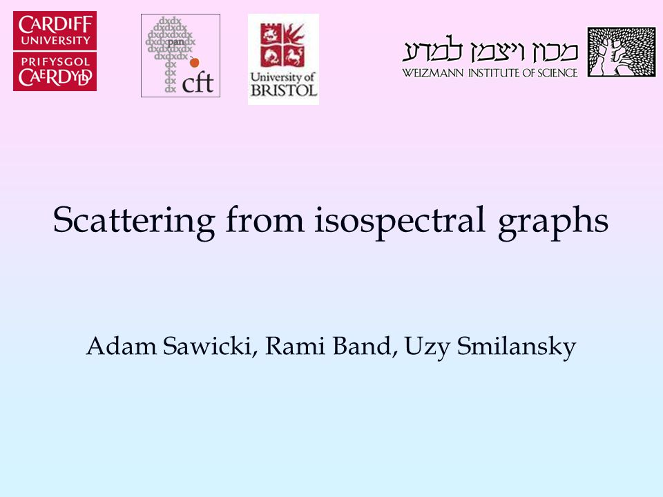 Transplantation & Scattering We may apply the isospectral construction on graphs with leads: The transplantation relates the function's values on the leads: In particular S 1 (k), S 2 (k) have the same pole structure.