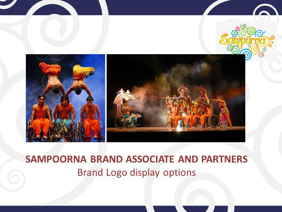 SAMPOORNA BRAND ASSOCIATE AND PARTNERS Brand Logo display options