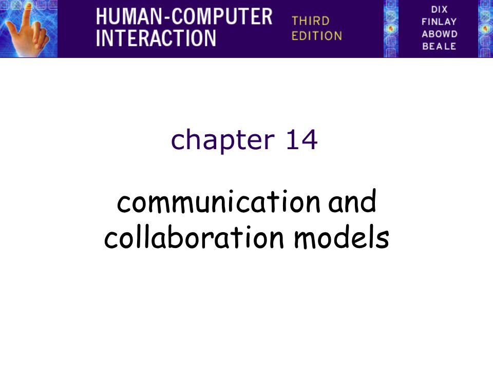 CSCW Issues and Theory All computer systems have group impact –not just groupware Ignoring this leads to the failure of systems Look at several levels – minutiae to large scale context: –face-to-face communication –conversation –text based communication –group working