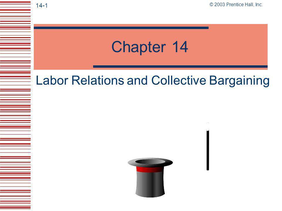 © 2003 Prentice Hall, Inc.14-11 The Labor Movement  16 Million U.S.