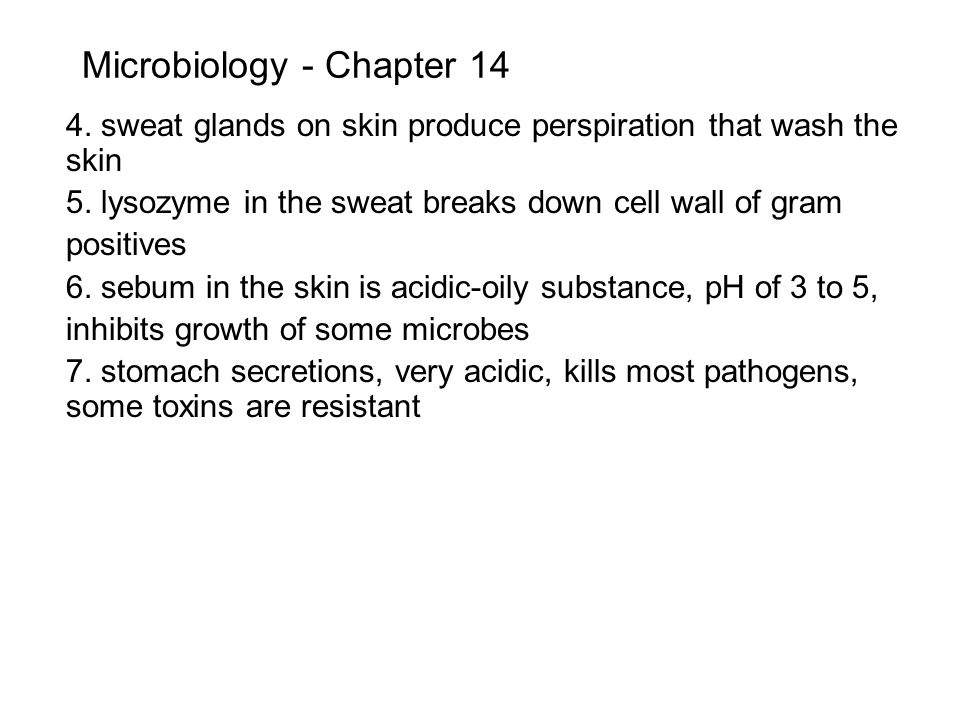 Microbiology - Chapter 14 b.Role of the group of chemicals called generally – Complement.