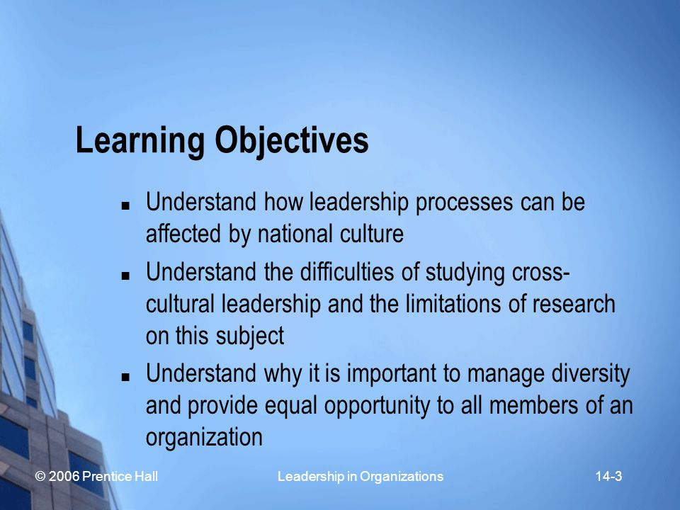 © 2006 Prentice Hall Leadership in Organizations14-4 Ethical Leadership General Conceptions of Ethical Leadership Diverse Perspectives on Ethical Leadership Burns Heifetz Greenleaf