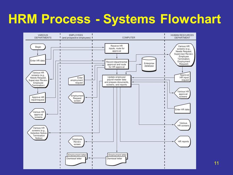 HRM Process - Systems Flowchart 11