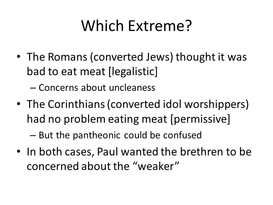 Which Extreme.