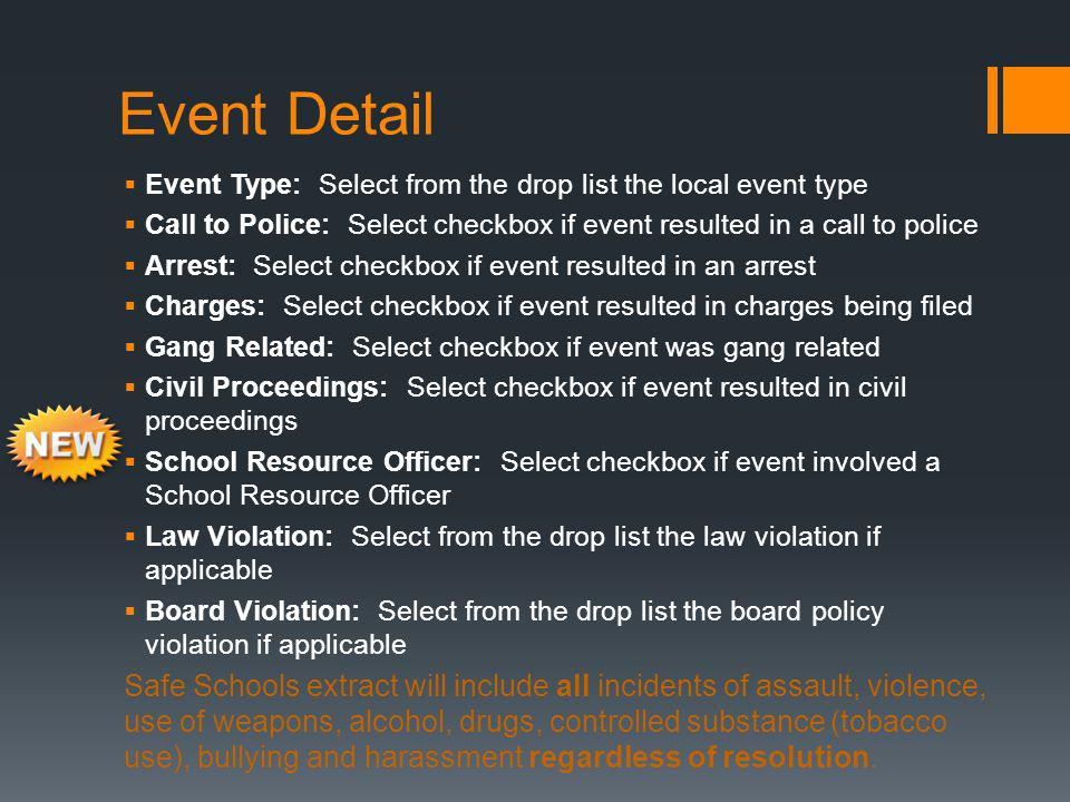 Events mapped to state code of Board Violation or Law Violation MUST have appropriate selection of law or board violation before saving the record