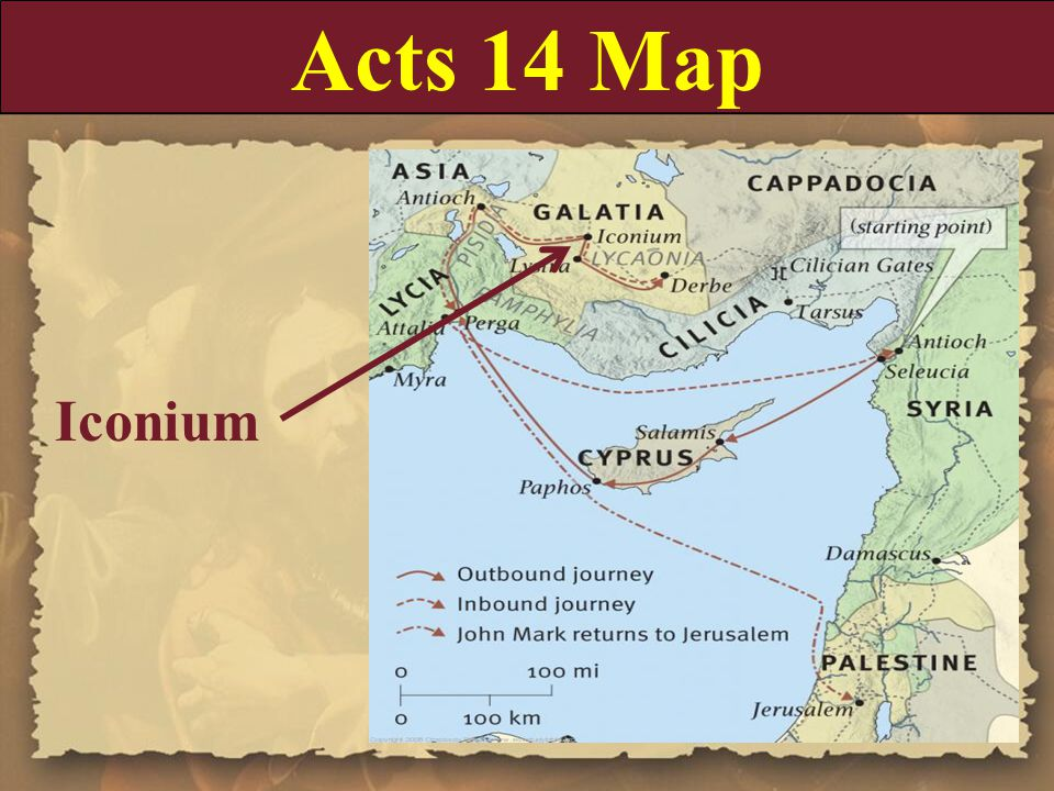 Acts 14:16-18 16 Who in times past suffered all nations to walk in their own ways.