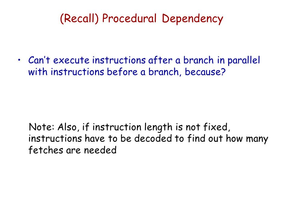 (recall) Resource Conflict Two or more instructions requiring access to the same resource at the same time —e.g.
