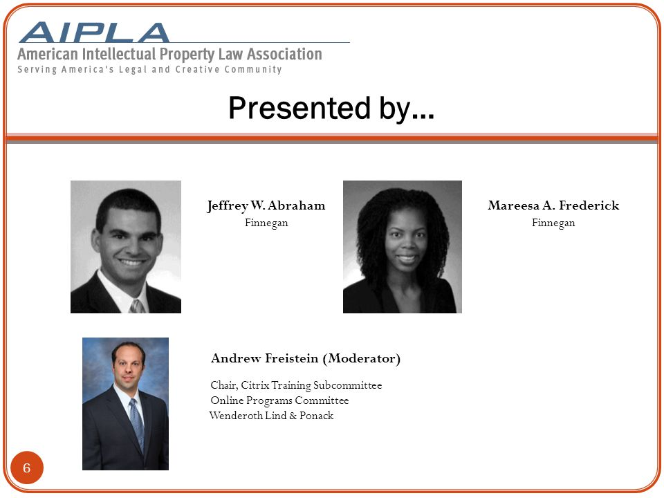 © AIPLA 2014 7 Chemical Practice at the ITC: Top Ten Considerations