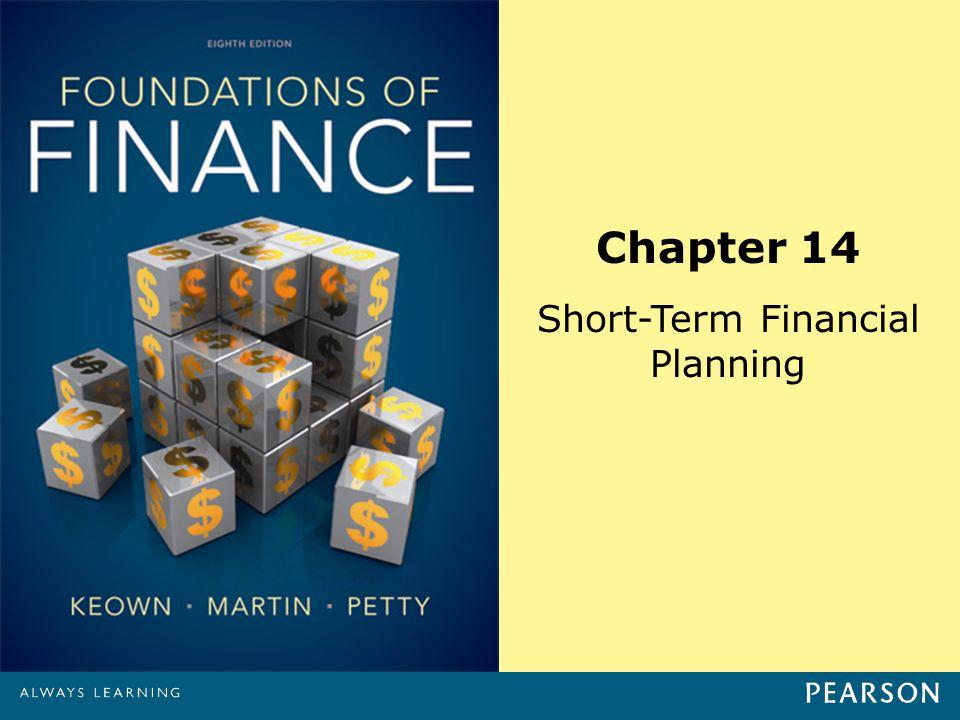 Chapter 14 Short-Term Financial Planning