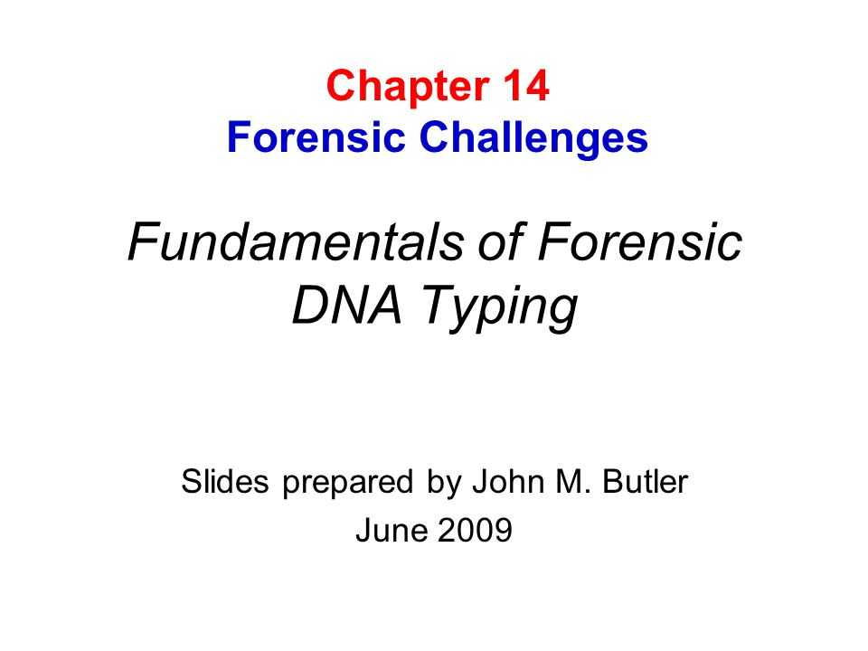 DNA Testing Has Become Extremely Sensitive… What does it mean to obtain a DNA match between a suspect and material from a crime scene.
