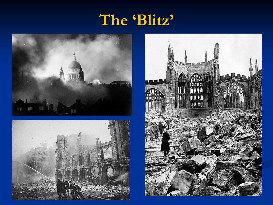 The 'Blitz'