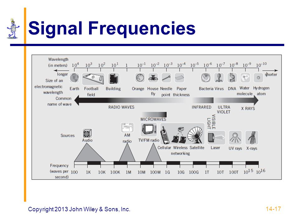 Signal Frequencies 14-17 Copyright 2013 John Wiley & Sons, Inc.