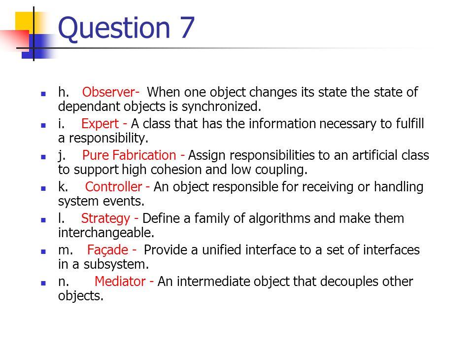 Question 7 h.