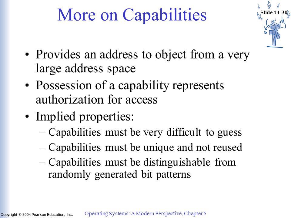 Slide 14-30 Copyright © 2004 Pearson Education, Inc.