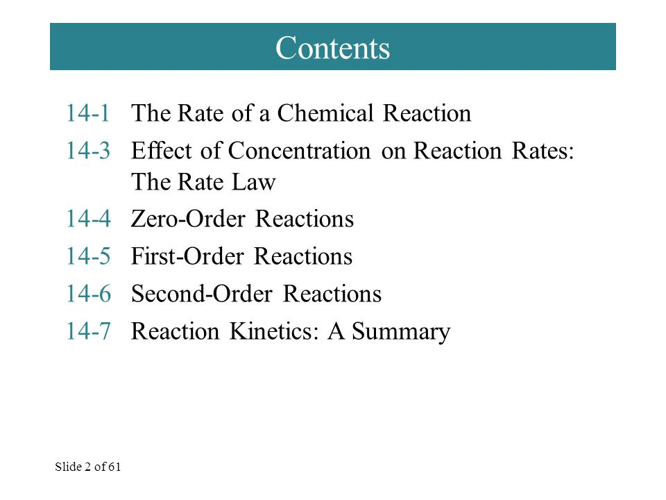 Slide 13 of 61  Worked Examples Follow: