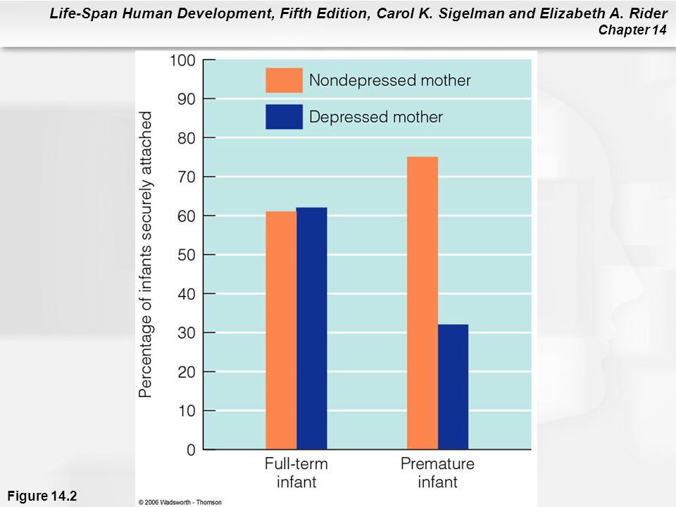 Life-Span Human Development, Fifth Edition, Carol K. Sigelman and Elizabeth A. Rider Chapter 14 Figure 14.2