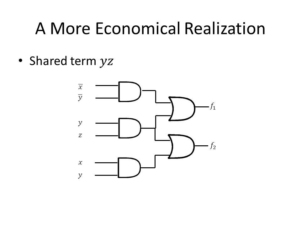 A More Economical Realization