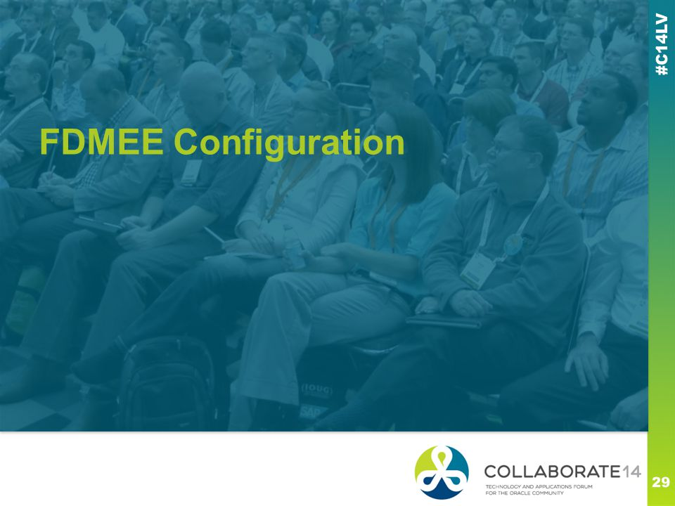 FDMEE Configuration This is a subtitle or bulleted list