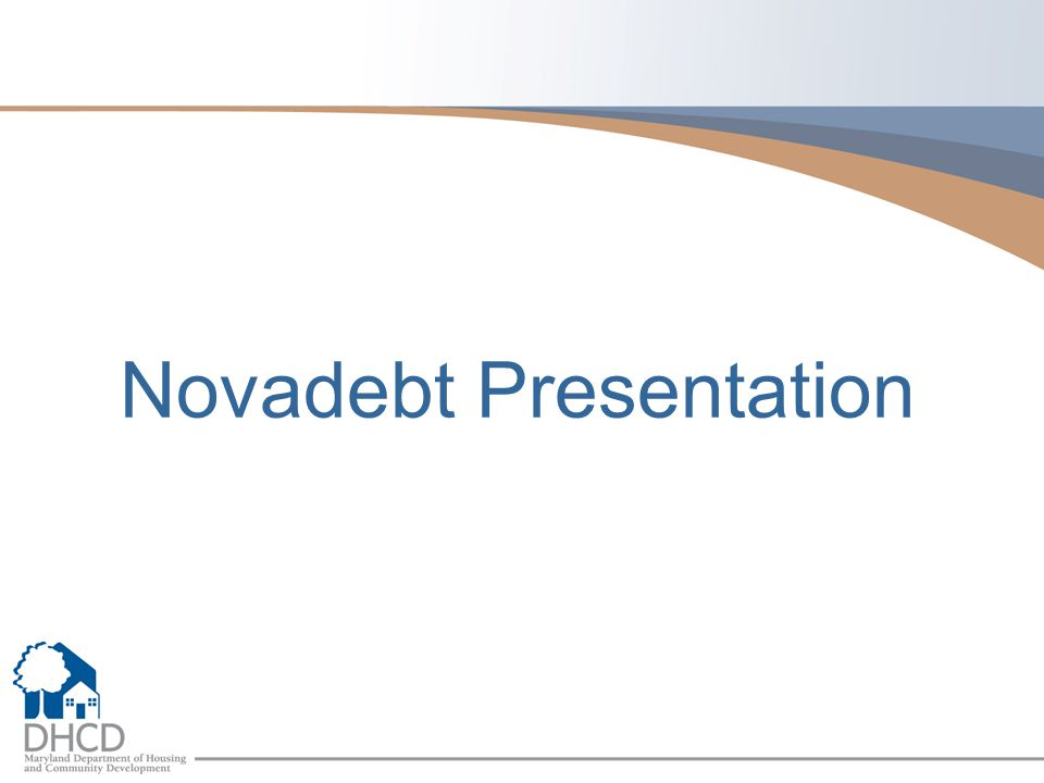 Novadebt Presentation