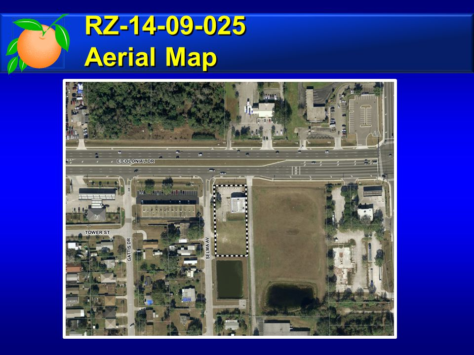 RZ-14-09-025 Make a finding of inconsistency with the Comprehensive Plan and recommend denial of the requested C-2 (General Commercial District) zoning.