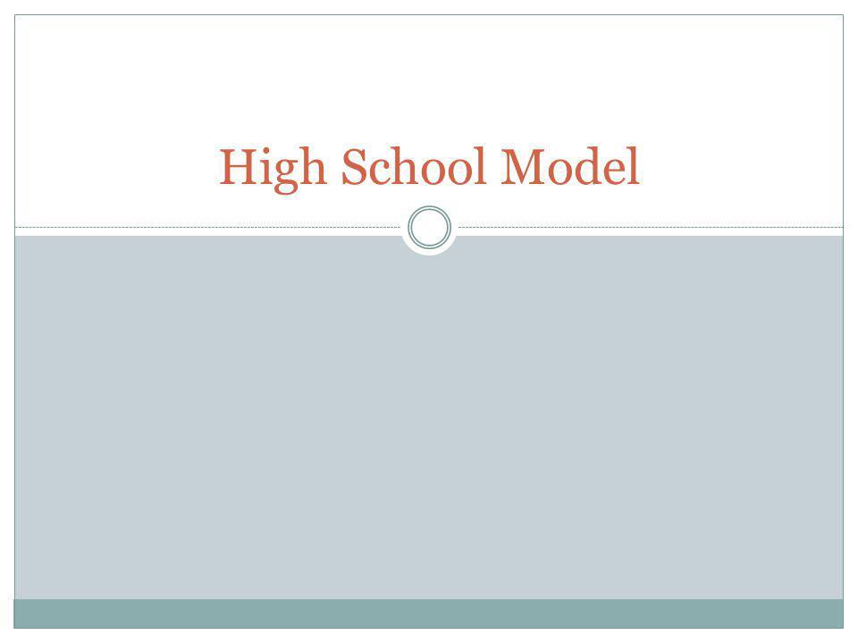 High School Model