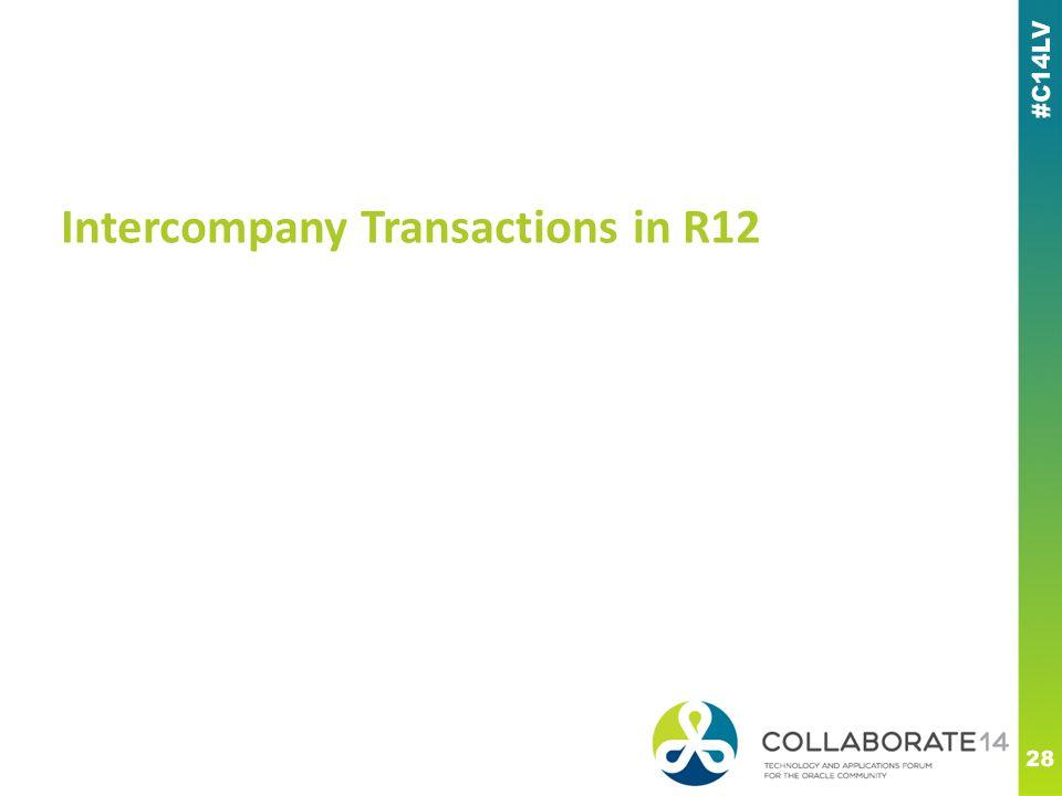 Intercompany Transactions in R12