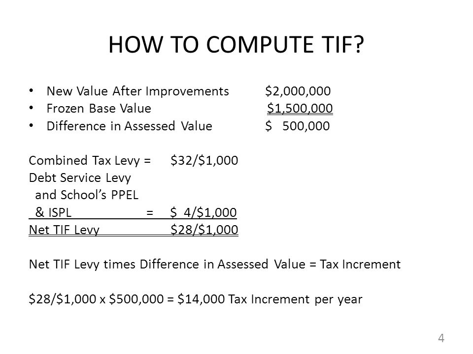 HOW TO COMPUTE TIF.