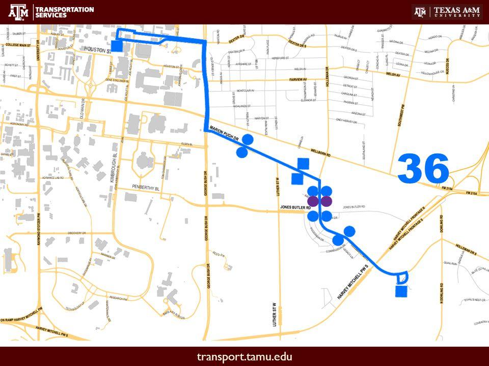 transport.tamu.edu 36
