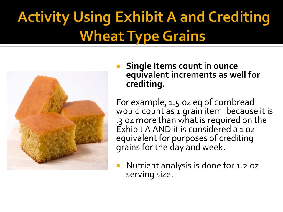  Single Items count in ounce equivalent increments as well for crediting.