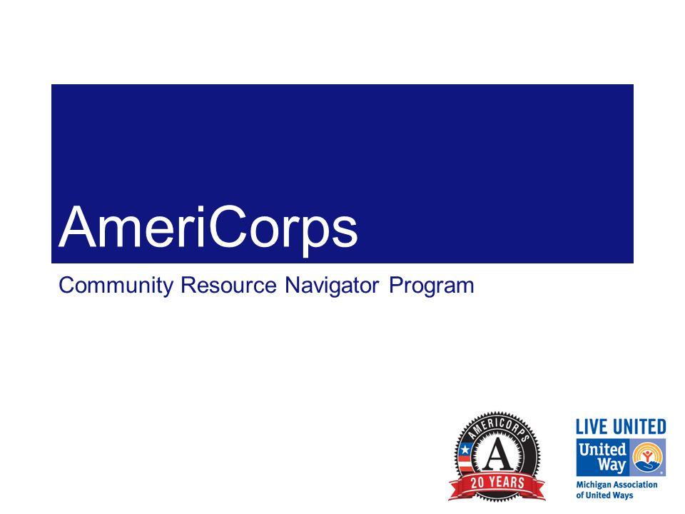 AmeriCorps Community Resource Navigator Program