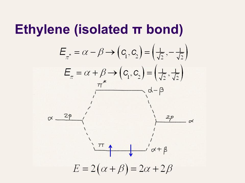 Ethylene (isolated π bond)